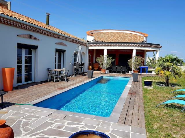 Villa chaleureuse