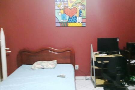 Quarto p/Casal c/banh-Sky-TV-Ar cond,em condomínio - Porto Velho - Ortak mülk