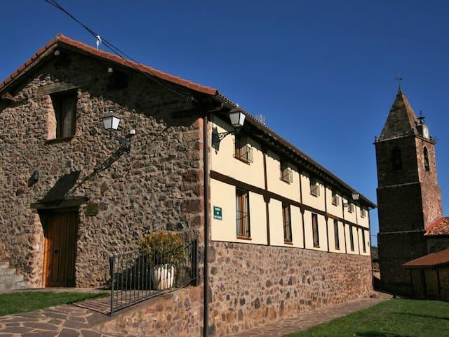 Casa rural con chimenea y gran capacidad - El Rasillo de Cameros - Casa