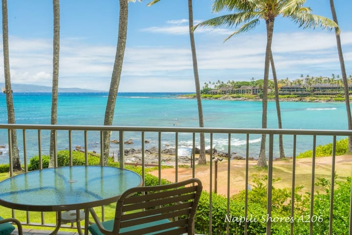 BEACHFRONT NAPILI SHORES A206