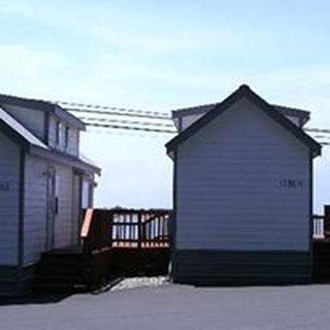 Eagle Bay Vacation Rentals/ Cabin #2 Pacific - Gold Beach - Srub