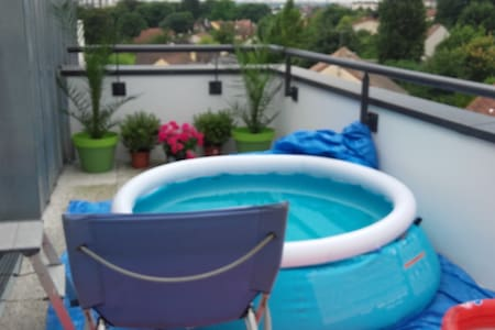 F2 60m2 - Terrasse proche Paris Champigny s/ marne - Wohnung