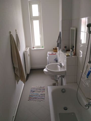The bathroom, nothing special about it, pretty common setup.