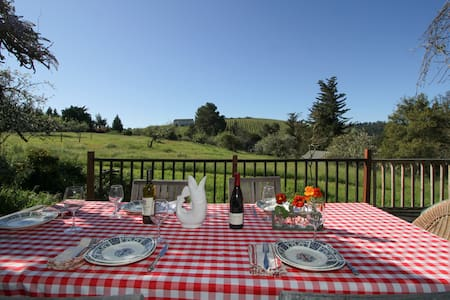 Private Wine Country Home w/views - Sebastopol - Σπίτι