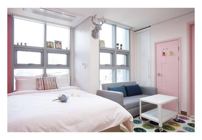 #1 明洞 , 免费提供移动WIFI - 鐘路區 - 公寓
