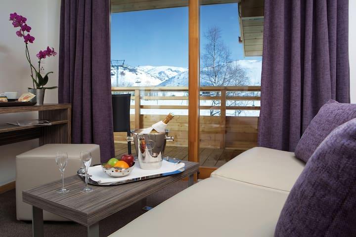 Vacances de Ski avec Accès PIscine + Sauna | Endroit Super!