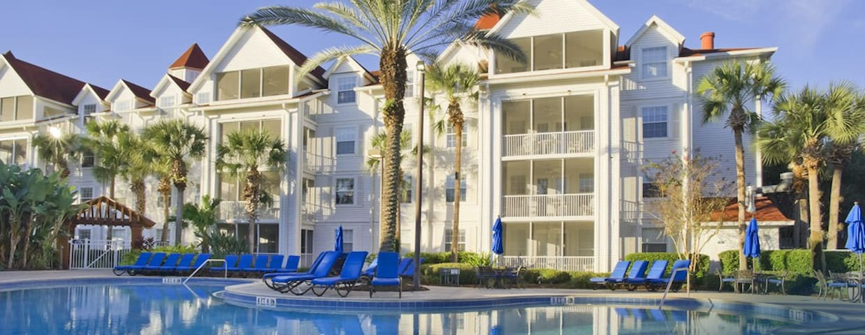 Grand Beach Resort- 3 bdrm 3 bath disney