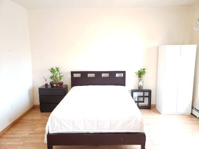 Big room with a Queen size bed contact host if 2+