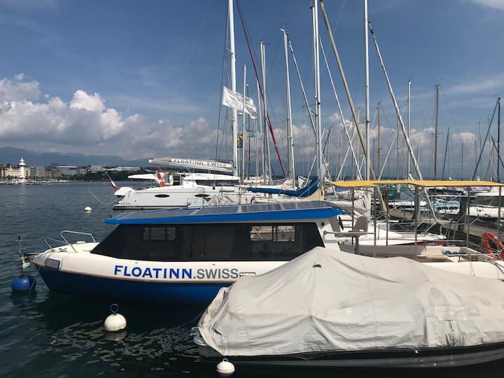 Solar Floatinn, bateau sans permis, zéro émission