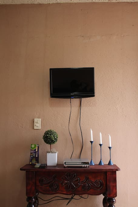 enjoy the satellite tv and dvd movies