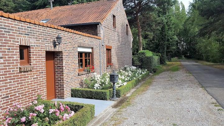 Volledige privé cottage (6p) nabij Domein Bokrijk