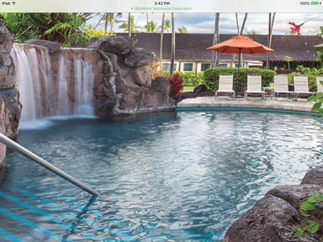 1 week vacation at garden isle of Kauai