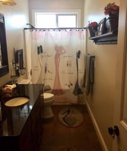 Private Bath #4 (downstairs)