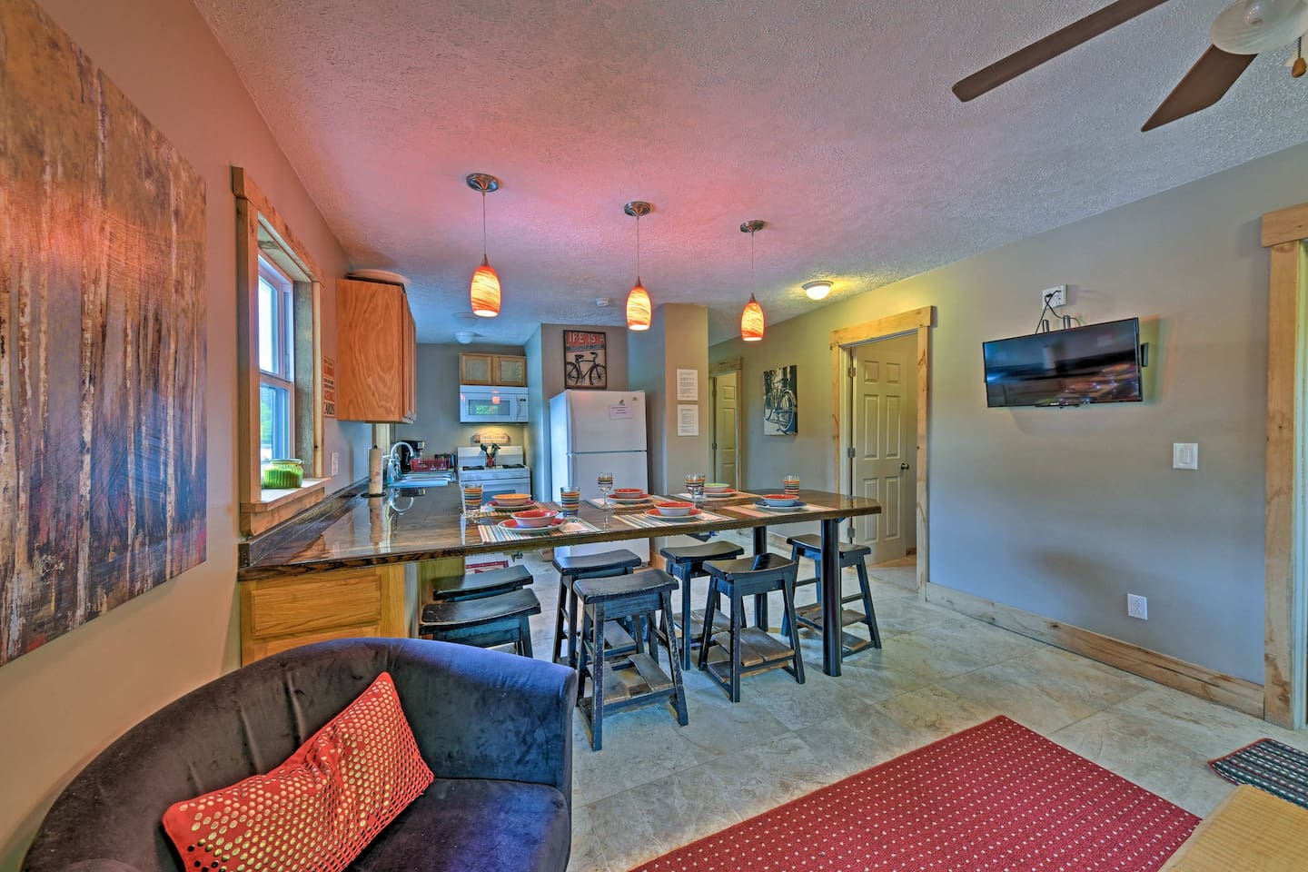 The cottage offers new plumbing, electrical, kitchen, bathrooms, and more!