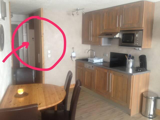 Avoriaz appartement calme CN74 - Morzine - Apartment