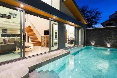 Crystal Moderní soukromý bazén vila