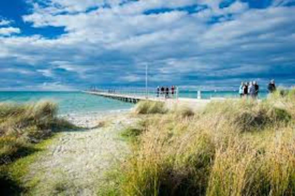 Rye Front Beach