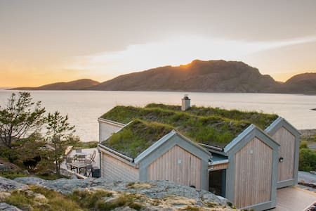 Family cabin on Linesøya - Facing the Atlantic