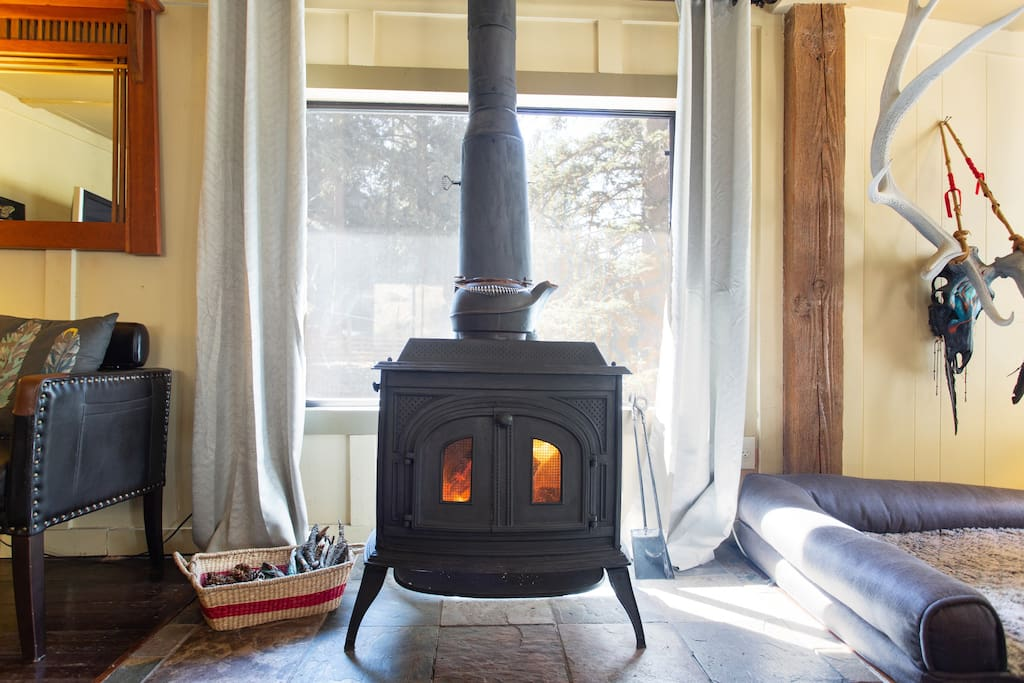 Authentic Wood Burning Stove