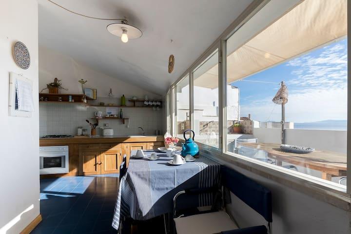 Tipica casa tabarkina - Carloforte - Talo