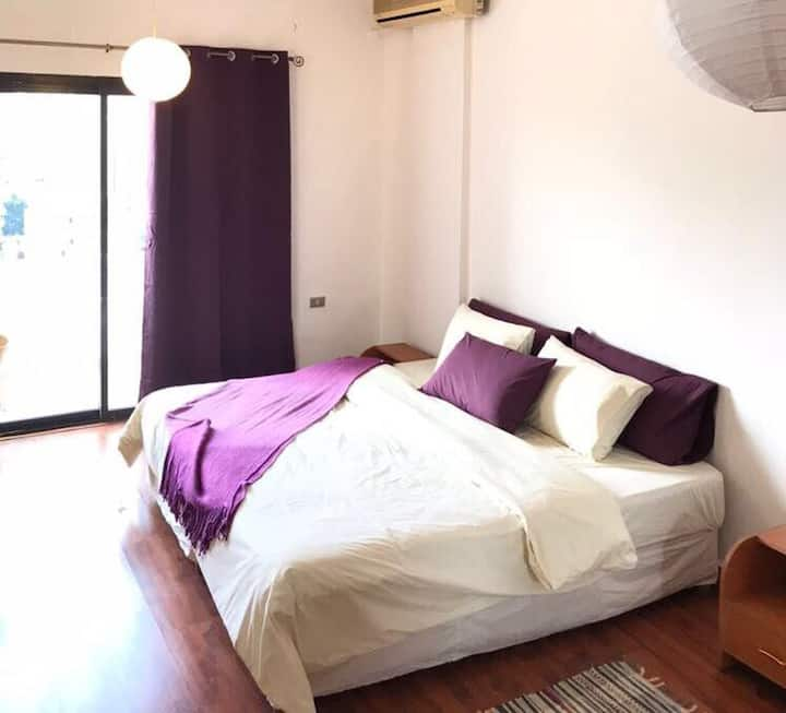 Nice Central apartment in Achrafieh in a safe area