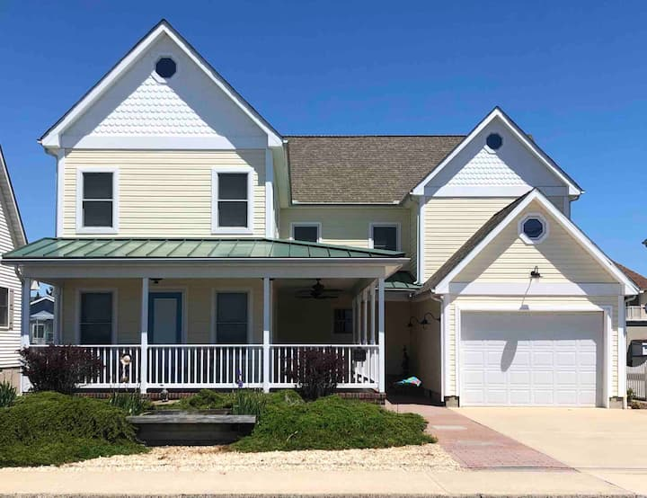 OCMD SF Home On Bay/Walking Distance to Beach