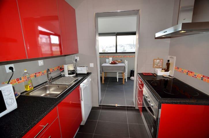 Appartement lumineux avec terrasse. - Setúbal - Lägenhet