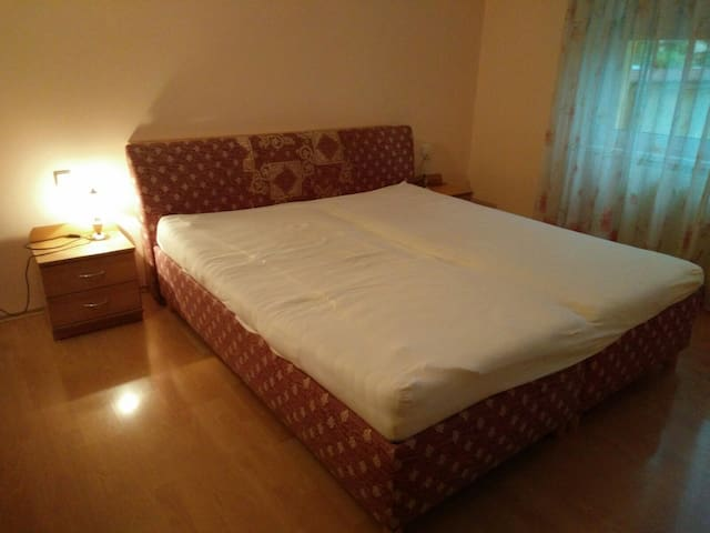 Bedroom nr 1 with double bed / spálňa č.1  s manželskou posteľou