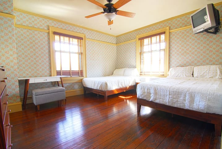 """Beautiful Historic Craftsman """"The Double Room"""""""
