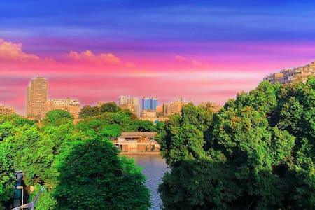Corniche el nile view  and zamalek city
