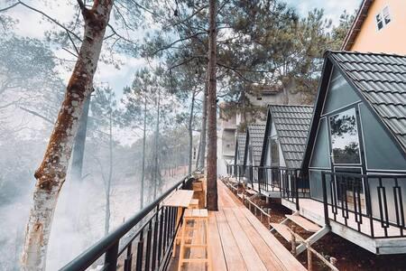 Bungalow beatifull  with Dakke lake pine hill view