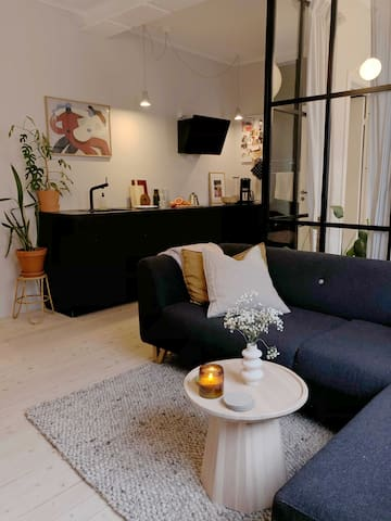 Newly refurbished, cosy design apartment