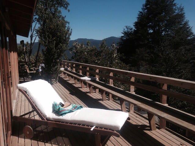 Caburgua mountain lodge