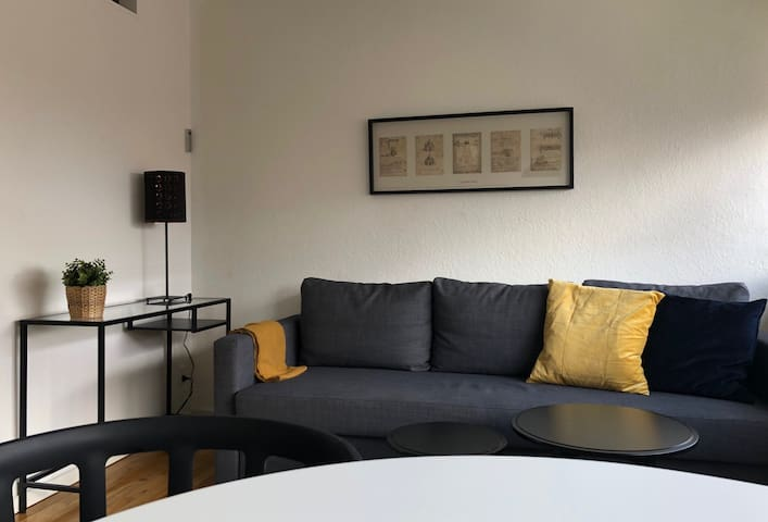 sh1,8One room apartment I suburb to Copenhagen
