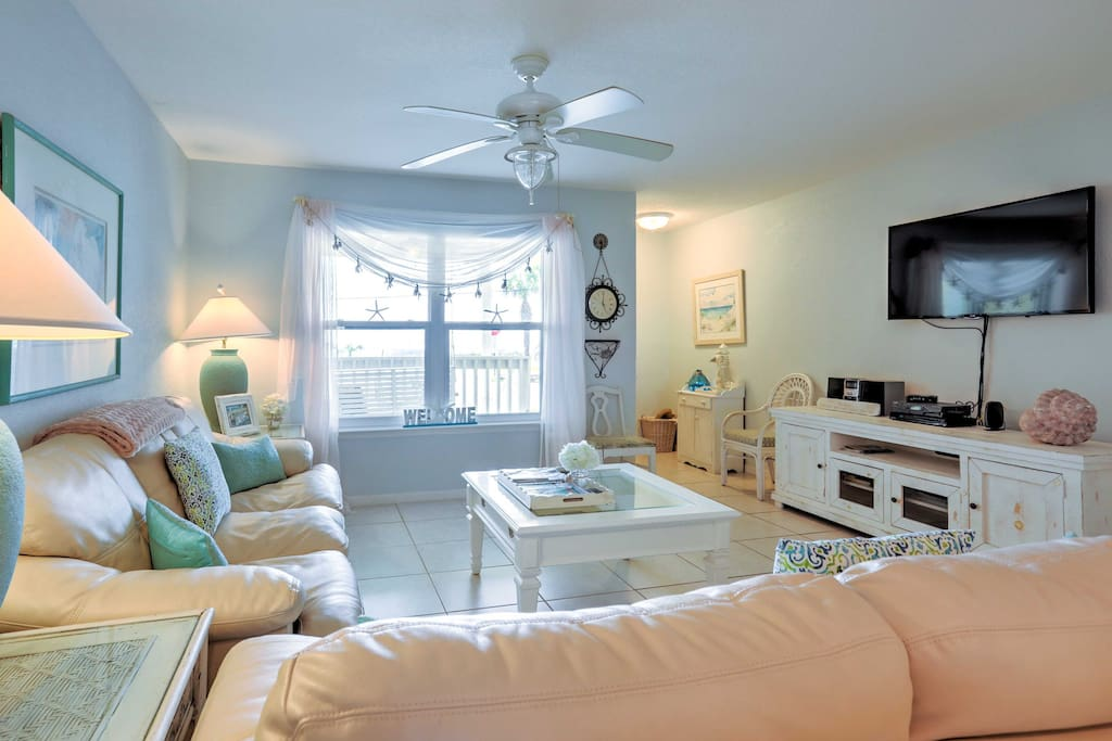The interior is well-appointed and comfortably furnished.