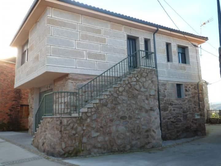 Casa A Barreada, en el Xures Muiños