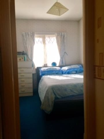 Small bedroom with the most comfy bed ever. - Castleknock