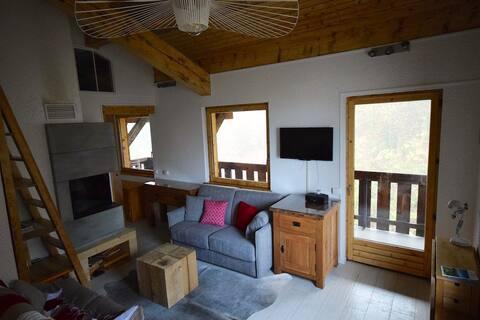 St. Gervais/Le Bettex: Appartement Skis aux pieds