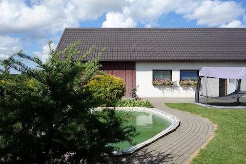 ¡Casa de sauna privada en el norte de Lituania!