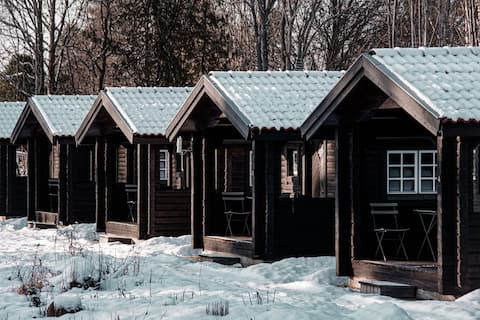 Cabins for two in Råda Hotel