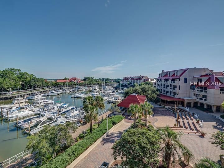 Hilton Head Island Villa in Shelter Cove Marina.
