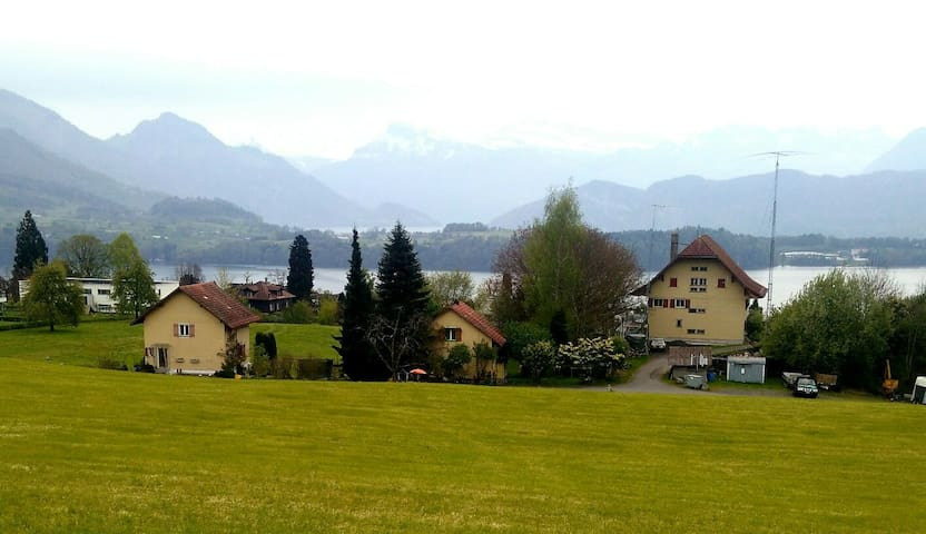 Old authentic farm house between Rigi and Pilatus - Meggen - Huis