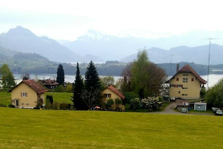 Old authentic farm house between Rigi and Pilatus - Meggen - 独立屋