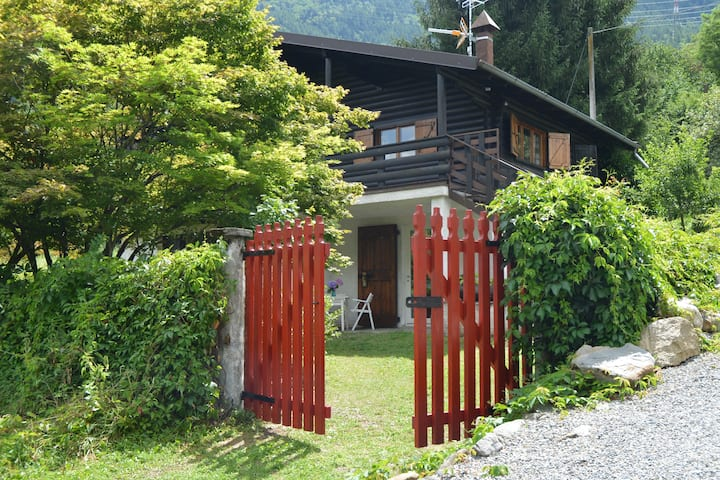 "Holiday Chalet in Valtellina ""At Red Gate"""
