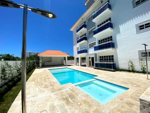 Cozy 3br Condo in Juan Dolio 20 mint to Airport