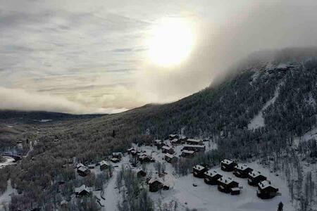 Exklusiv ny Ski-in/ski-out lgh i Ramundberget