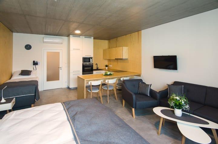 Deluxe Studio, balcony - Room Only