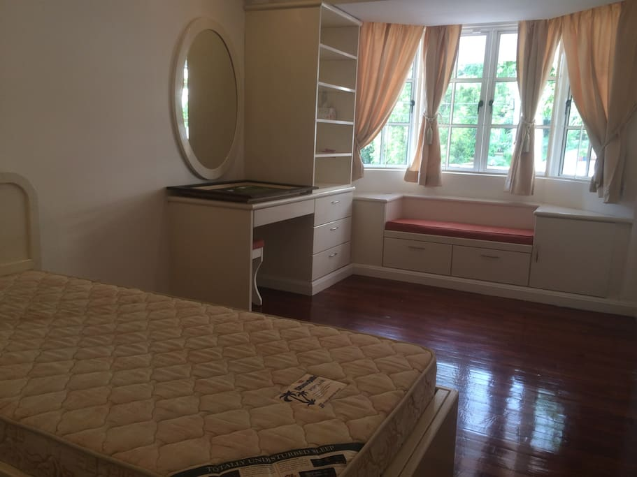 The Twin Room. Two single beds, pull-out. Cosy room with wardrobe and dresser.