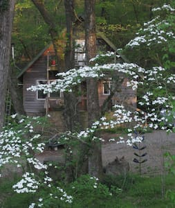 Secluded yet convienent Cabin in Gated community - Malvern