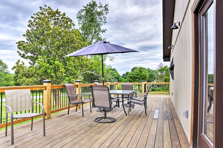 Event-Friendly Afton Home Near Wineries/Breweries!